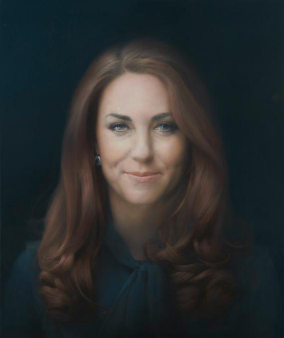 retrato oficial kate middleton
