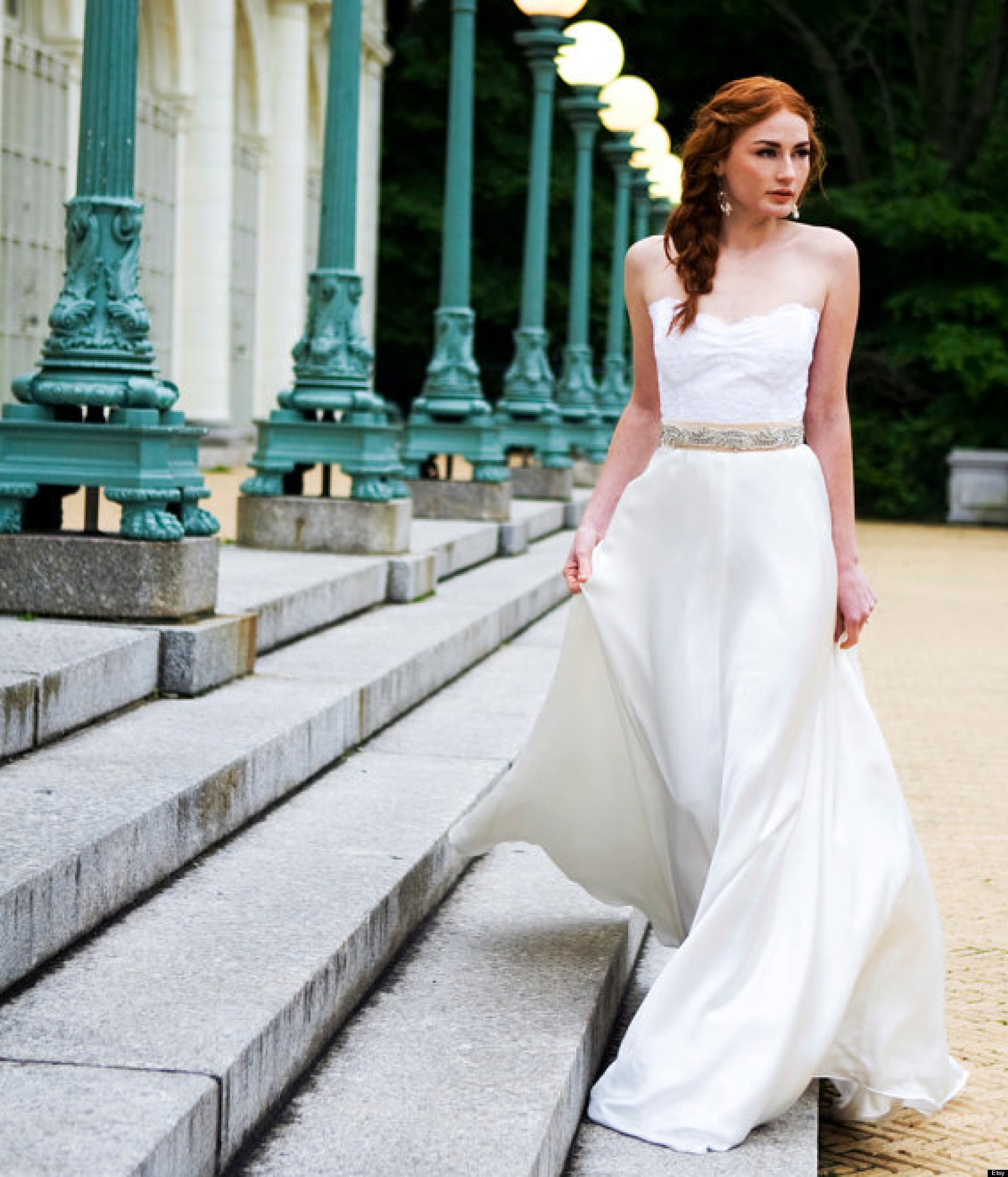 40 unique wedding dresses you can buy online huffpost ombrellifo Images