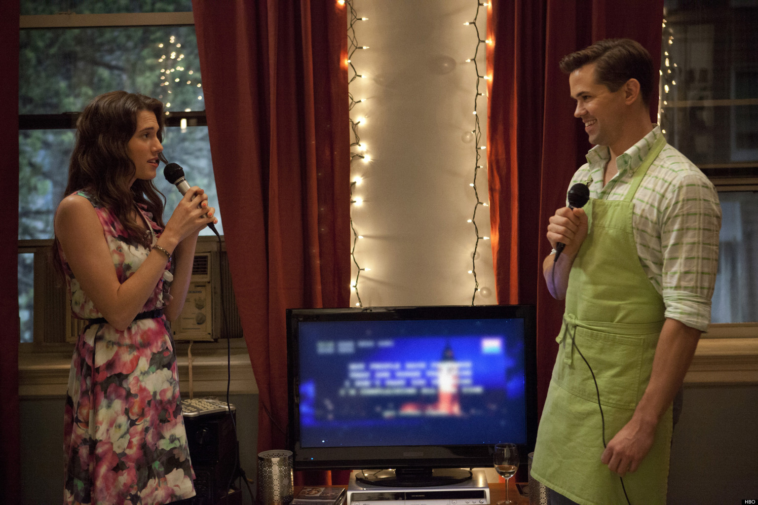 'Girls': Allison Williams And Andrew Rannells On Marnie ...