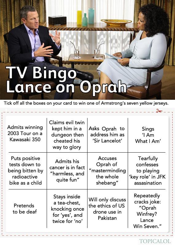 lance oprah bingo