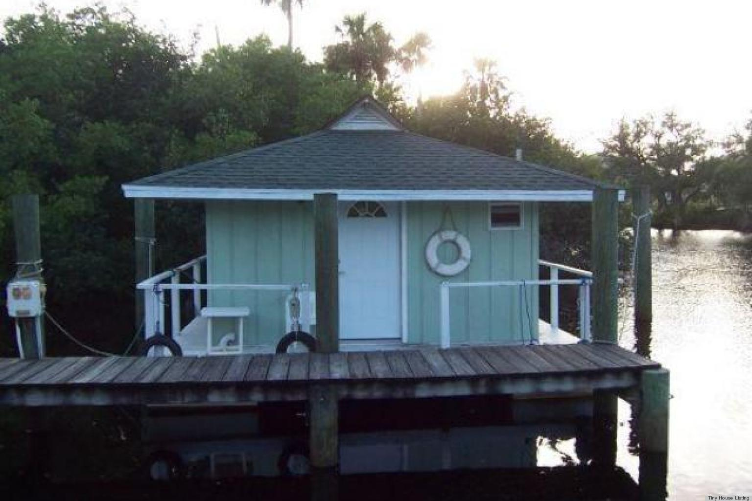 Tiny houses on the beach in florida - Floating Bungalow For Sale Offers Exotic Tiny Home Living In America Photos Huffpost