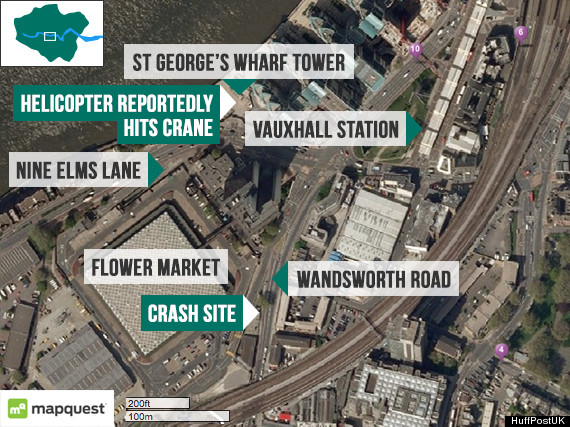 vauxhall crash map