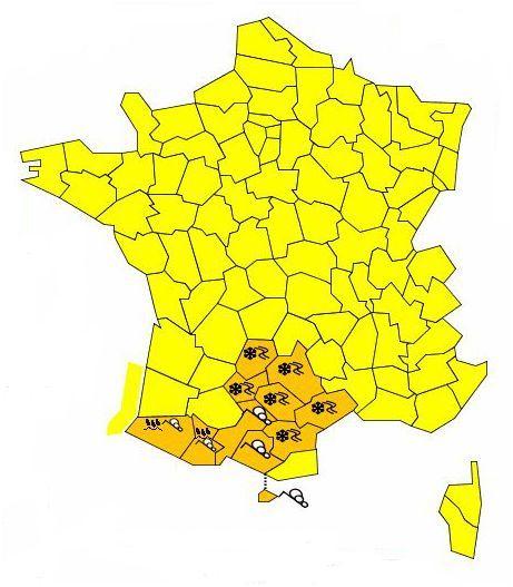 alerte rouge pyrenees