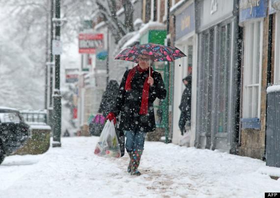 snow in britain