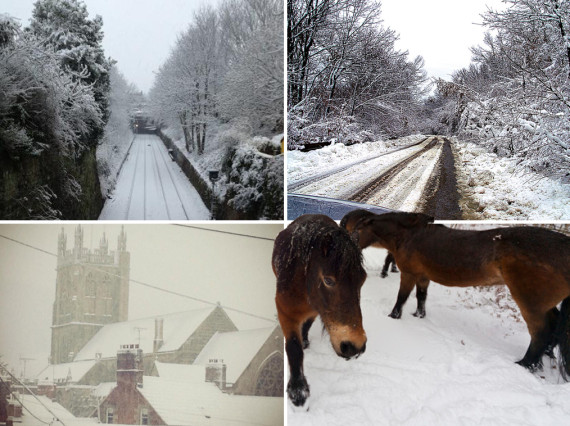 readers snow pictures