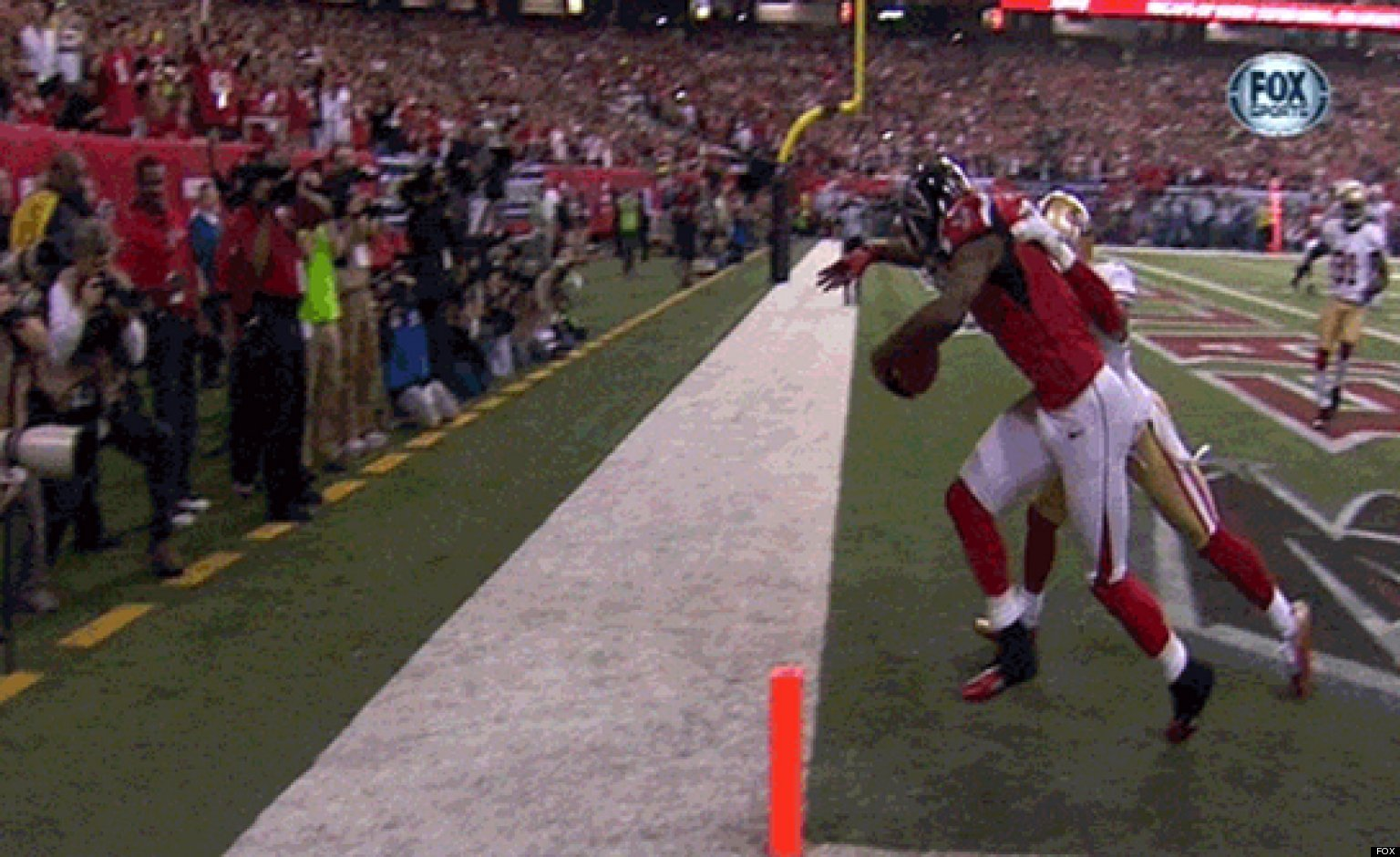 Julio Jones Touchdown Catch Falcons WR s Stunning Grab For 2nd TD
