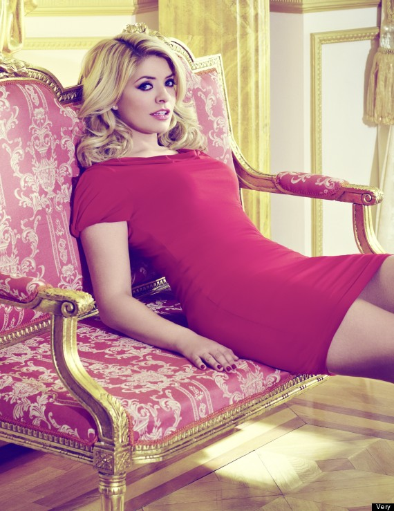 holly willoughby very