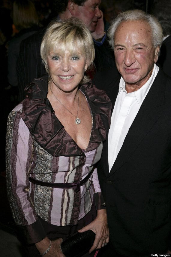 michael winner and wife