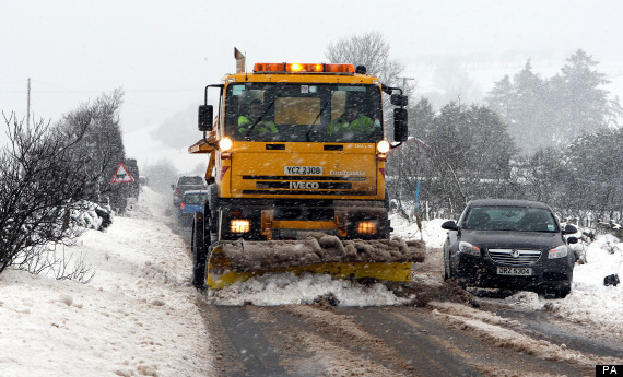 gritter snow