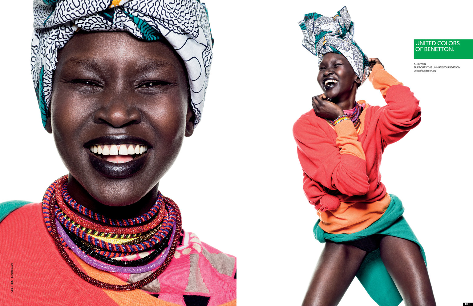 United colors of benetton spring 2013 campaign alek wek for United colors of benetton usa