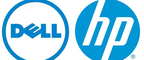 hp dell logo