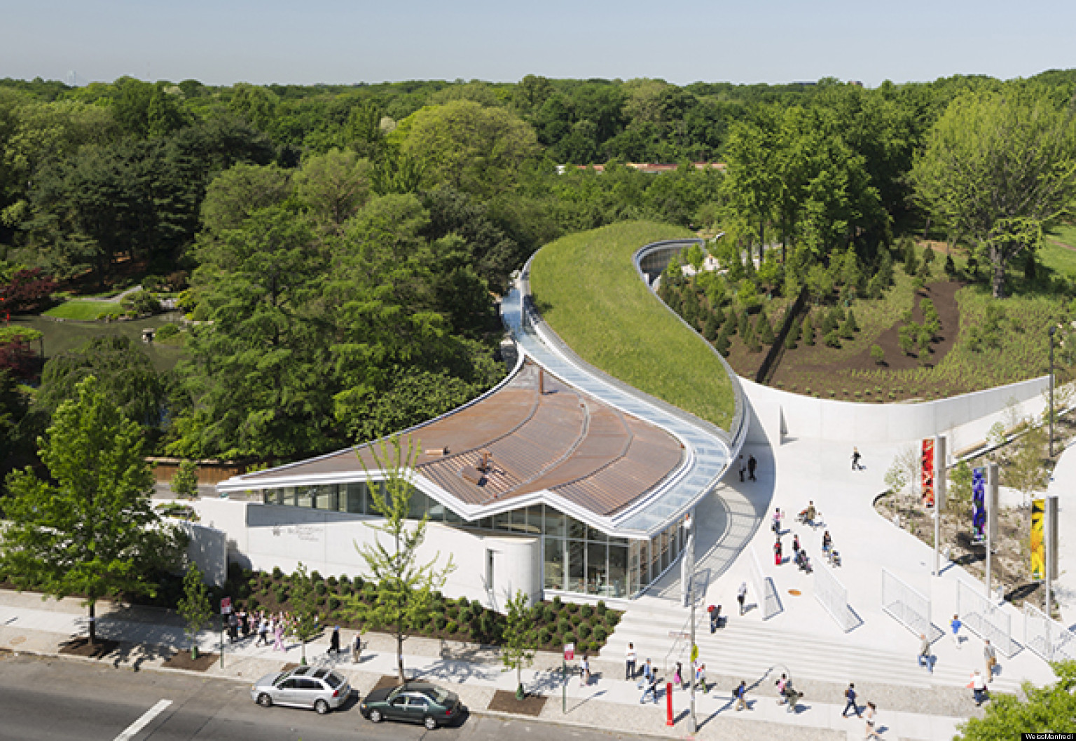 Broadening The Role Of Architects Brooklyn Botanic Garden Visitor Center By Weiss Manfredi