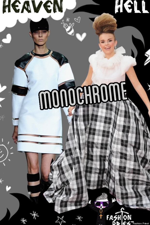 heaven and hell monchrome trend