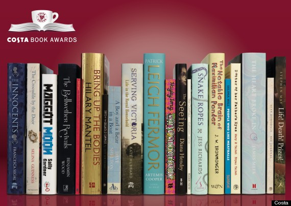 costa book awards prize
