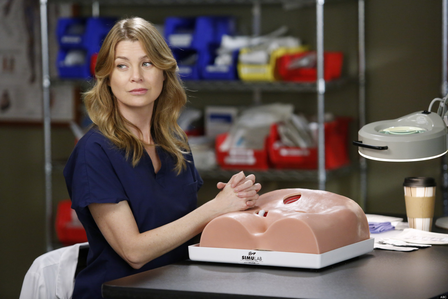 Greys Anatomy Will Meredith Lose The Baby Huffpost