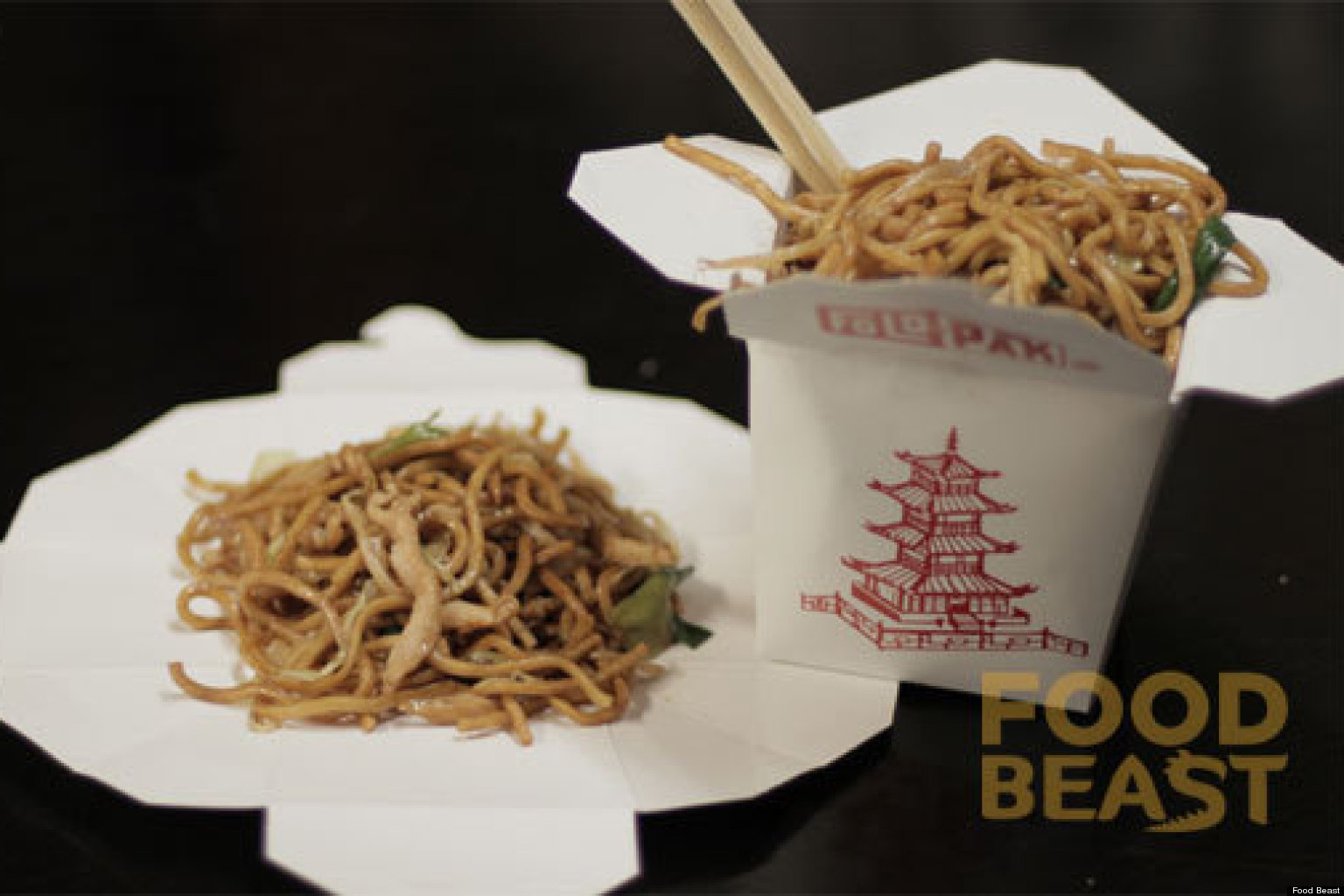 Chinese Food Box Fold