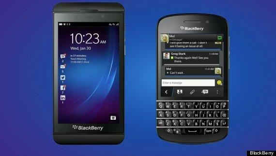 blackberry z10 q10