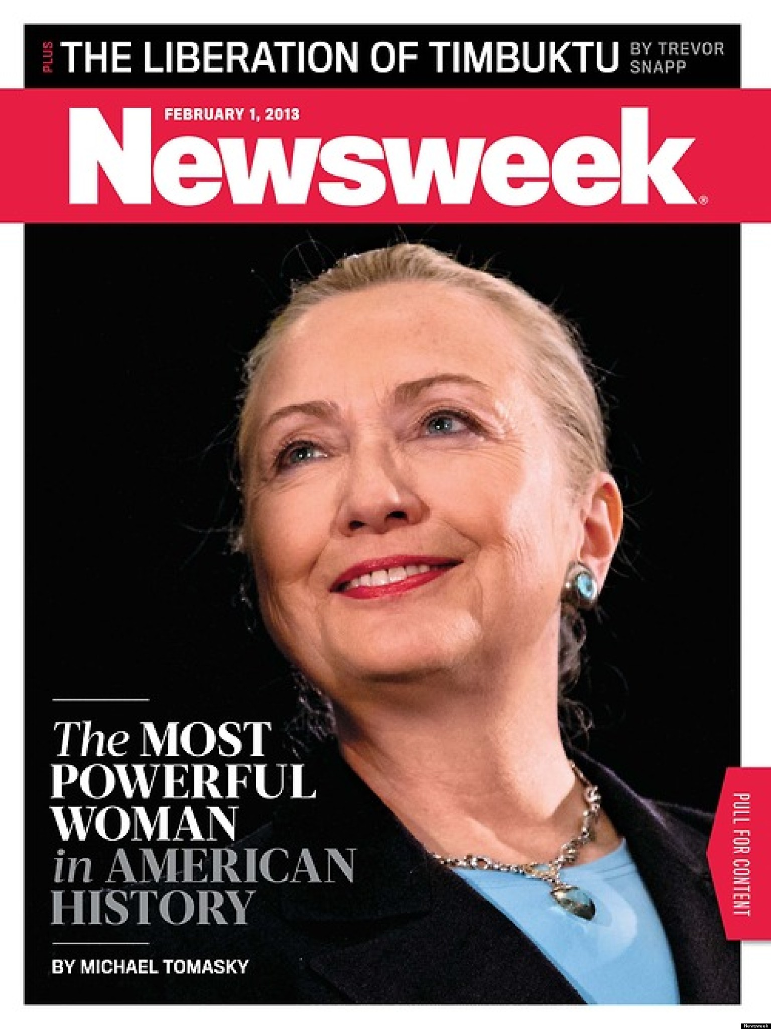 newsweek hillary clinton is most powerful woman in american