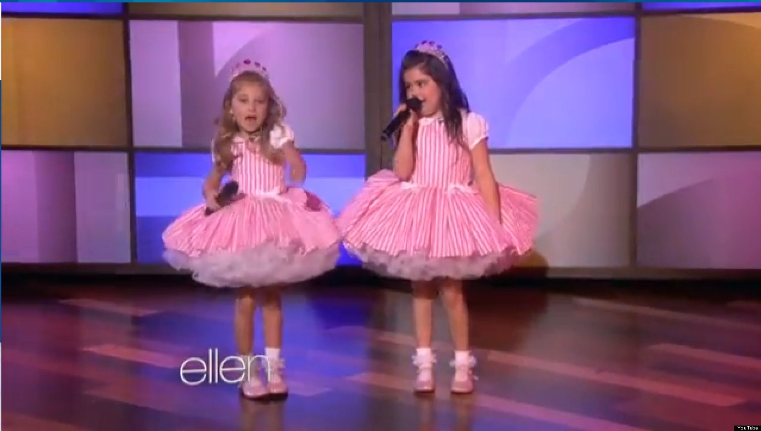 Sophia Grace And Rosie Perform Taylor Swift Song On Ellen