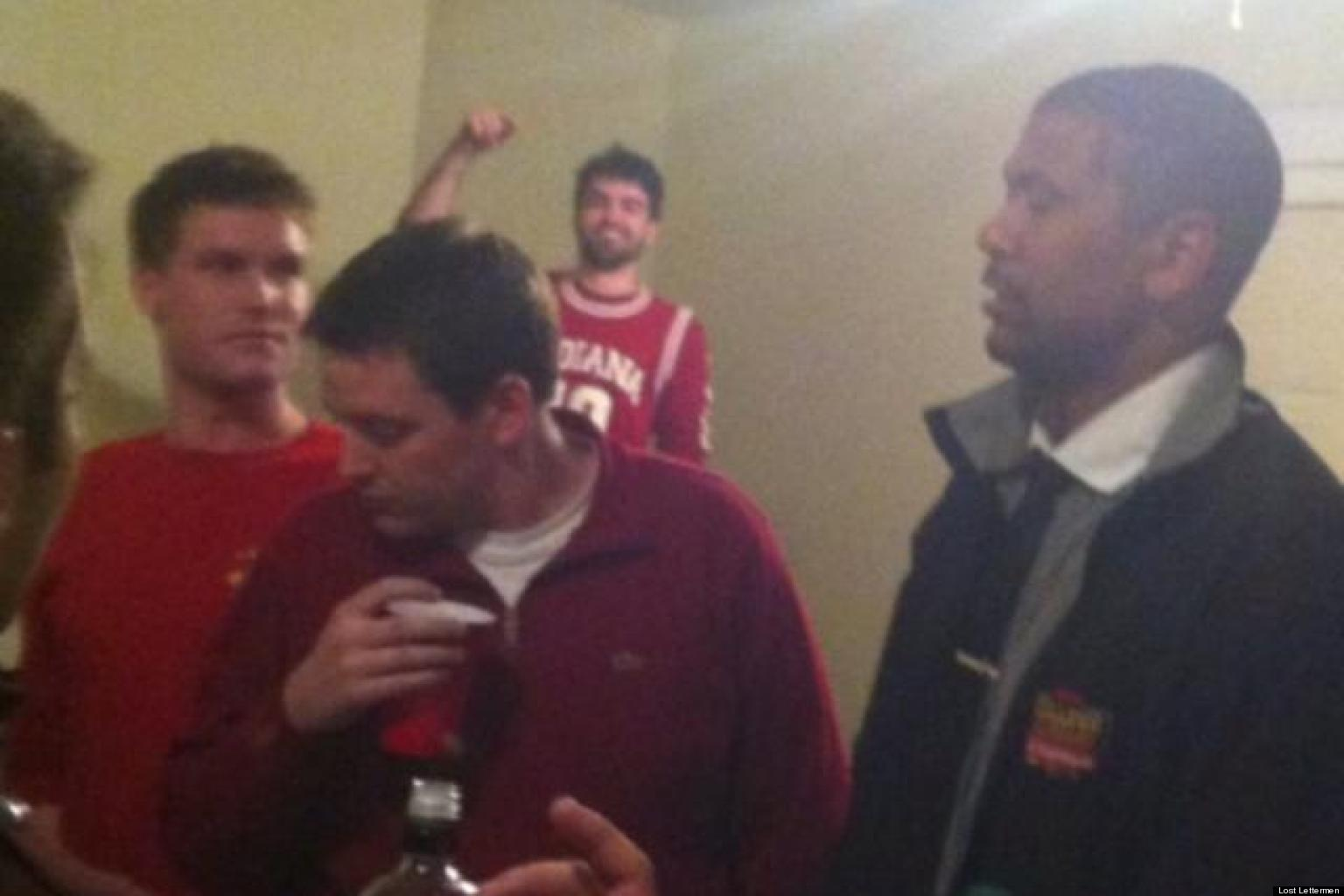 Jalen Rose ESPN Analyst Parties With Indiana University Students