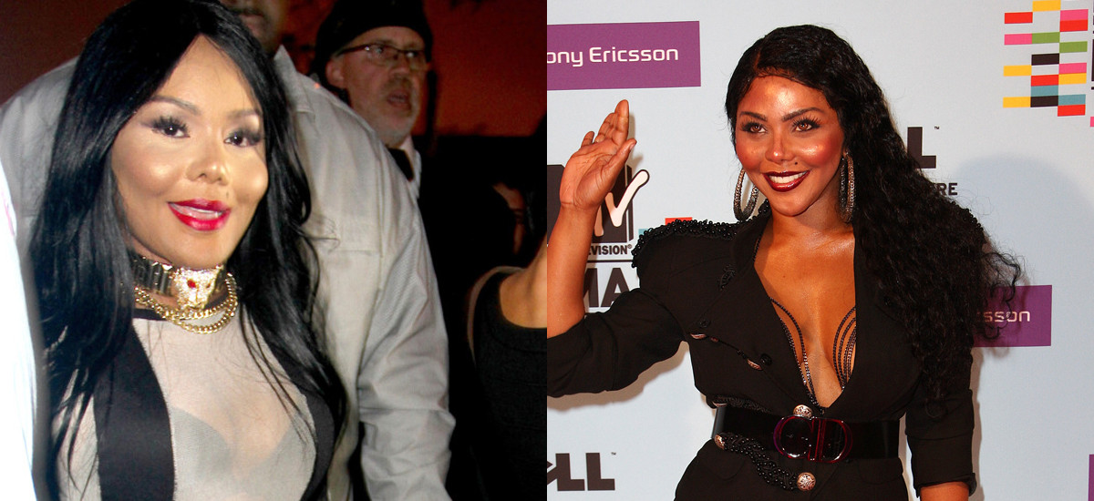 lil kim plastic surgery singer is almost unrecognizable