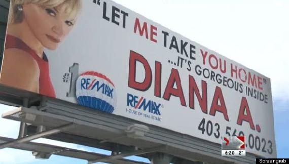 diana arvatescu suggestive billboard
