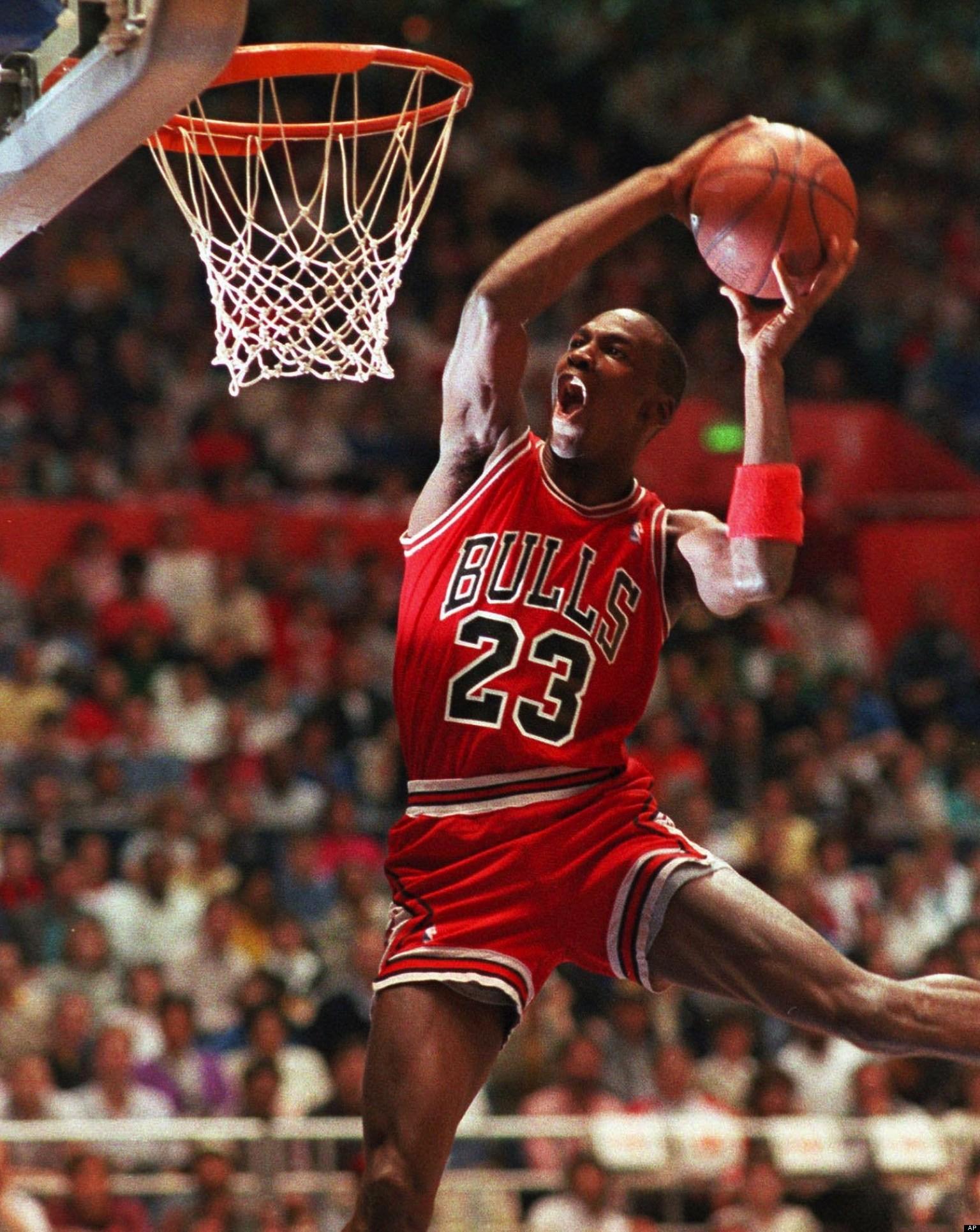 Michael Jordan 1987 Dunk Contest Anniversary VIDEO
