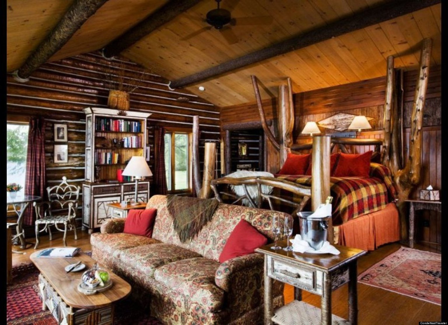 Winter Proof Log Cabins For A Snowstorm Getaway Photos