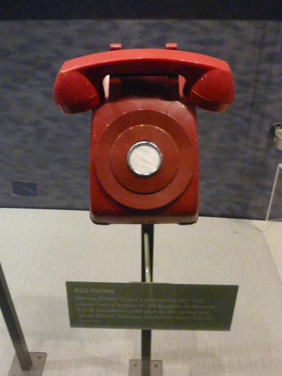telephone rouge