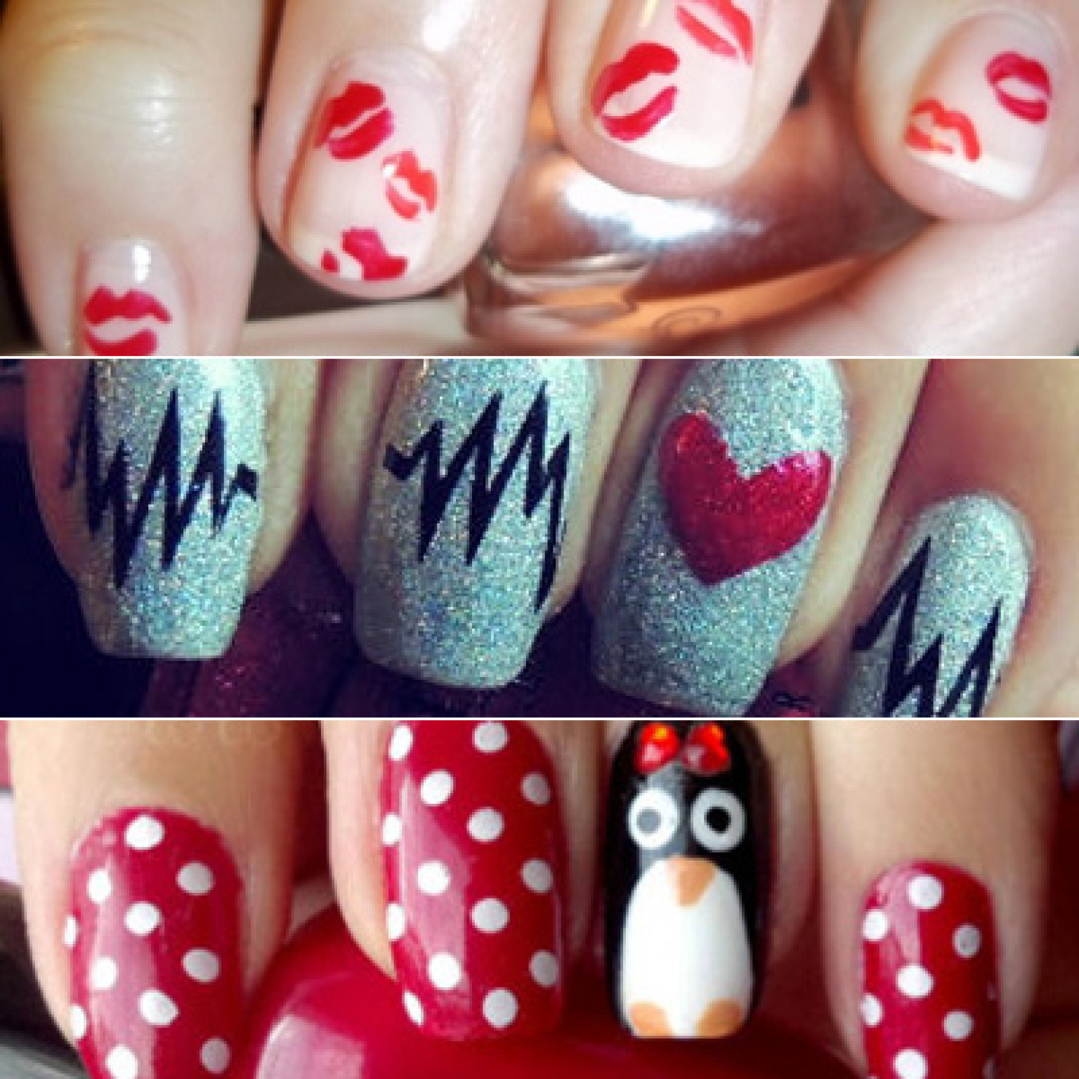 28 valentines day nail art ideas to put you in the mood for love photos huffpost - Valentines Nail