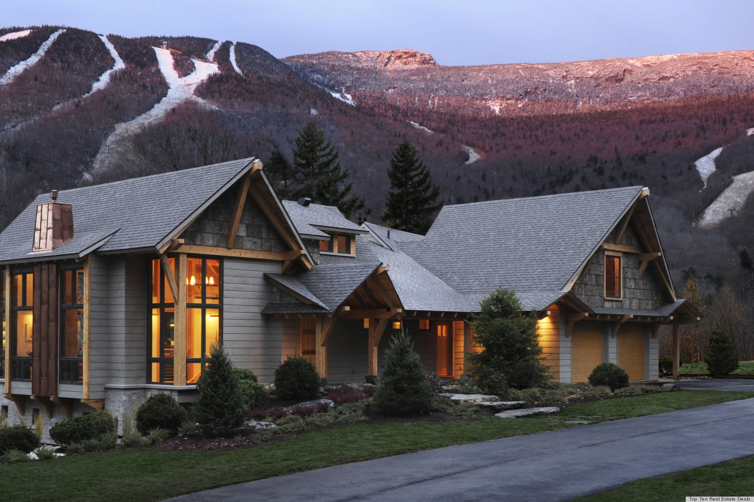 Hgtv dream home 2011 in stowe vermont on sale for for Hgtv home for sale