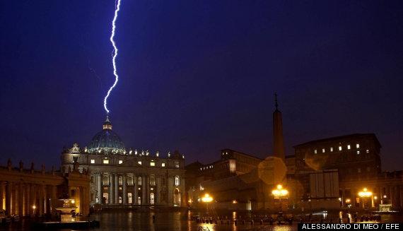 foto rayo vaticano