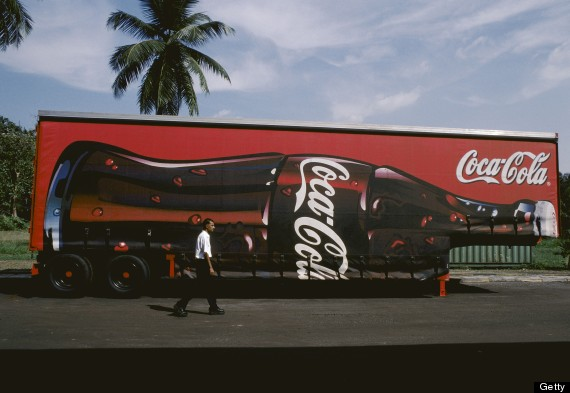 cocacola sign