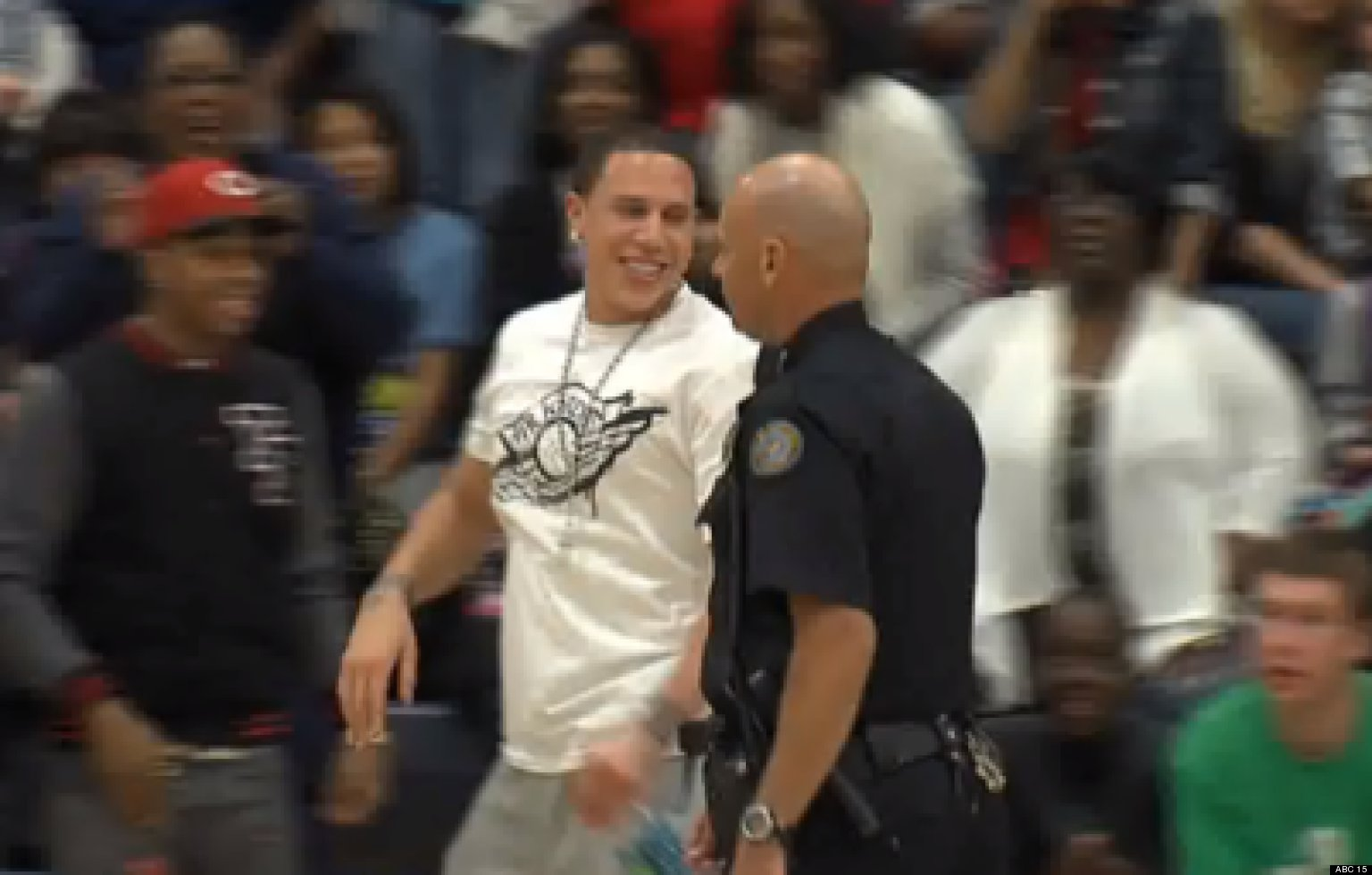 Mike Bibby Ejected From Son s Phoenix Shadow Mountain High School