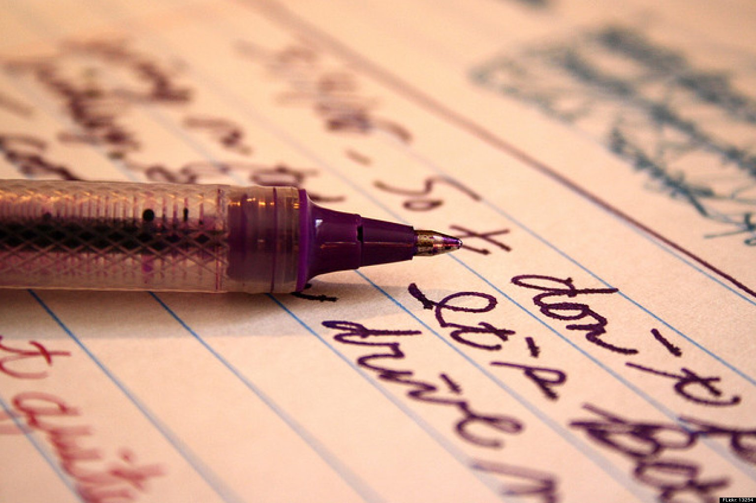 Writing In A Diary ~ Ways keeping a journal can help you de stress huffpost