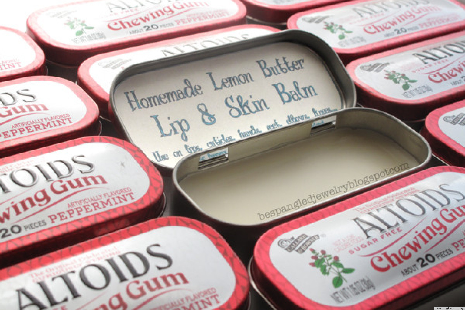 valentine's day gift ideas: a diy lemon lip balm made in an altoid, Ideas