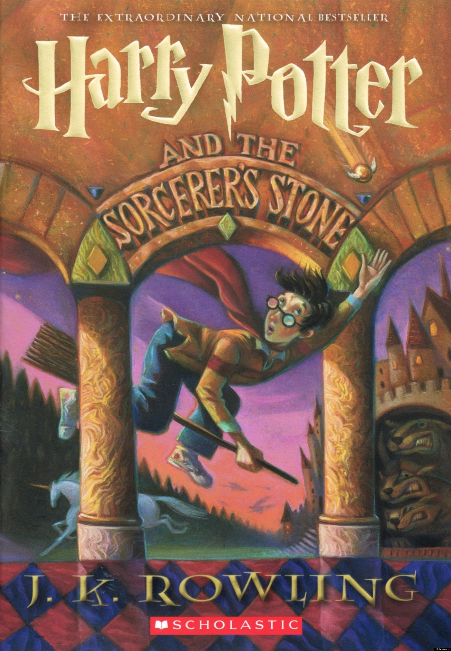 Harry Potter Book Cover Image ~ Scholastic reveals new book cover for harry potter and