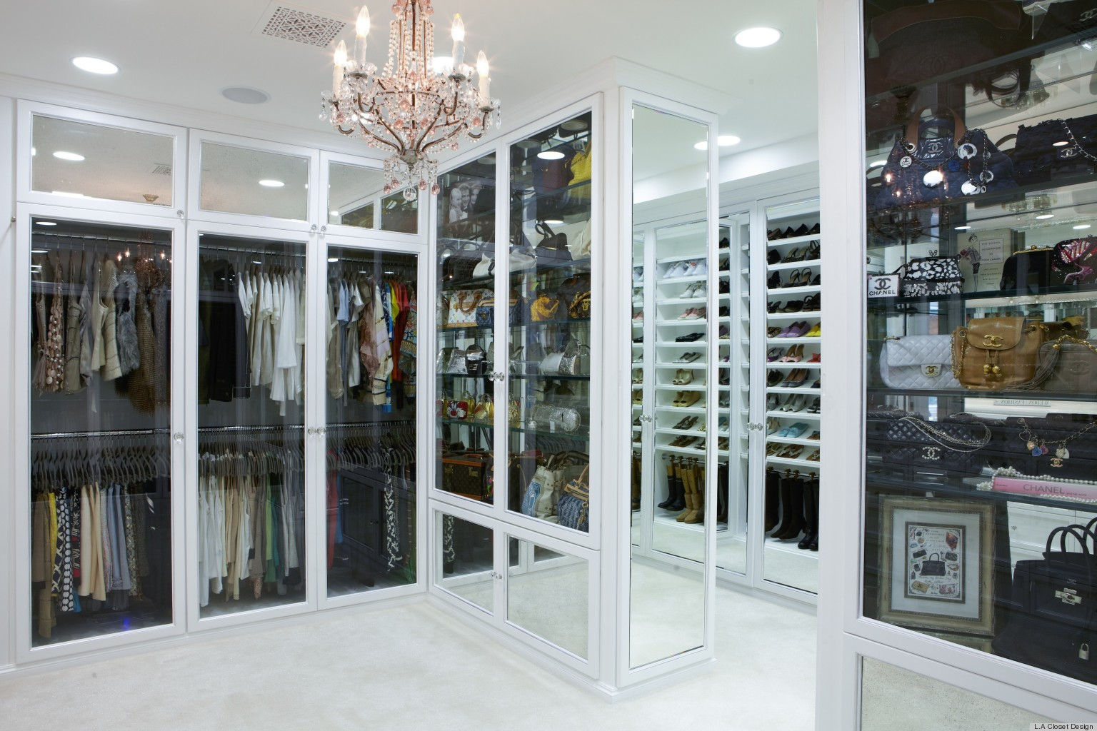 Rochelle Maizes 100000 Closet Designed By Lisa Adams Has Us Swooning PHOTOS