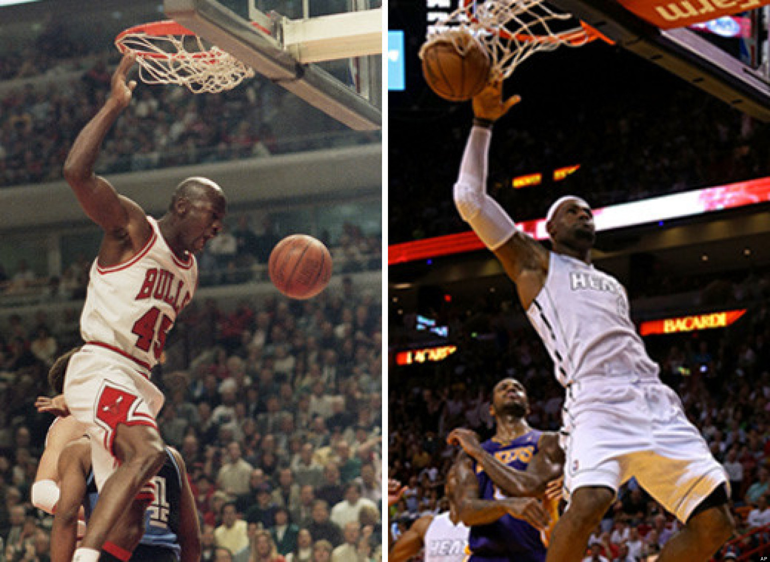 Michael Jordan Vs LeBron James All Time Greats Go 1 On Verbally