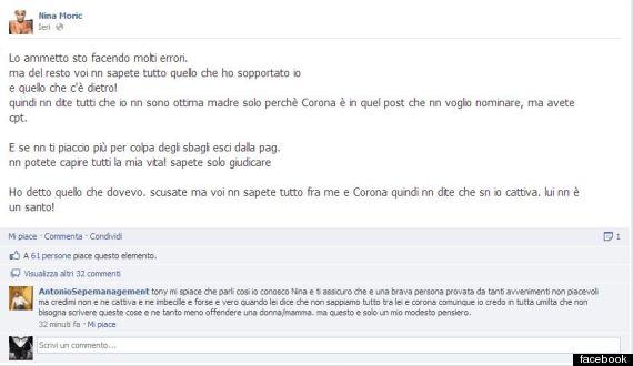 nina moric facebook