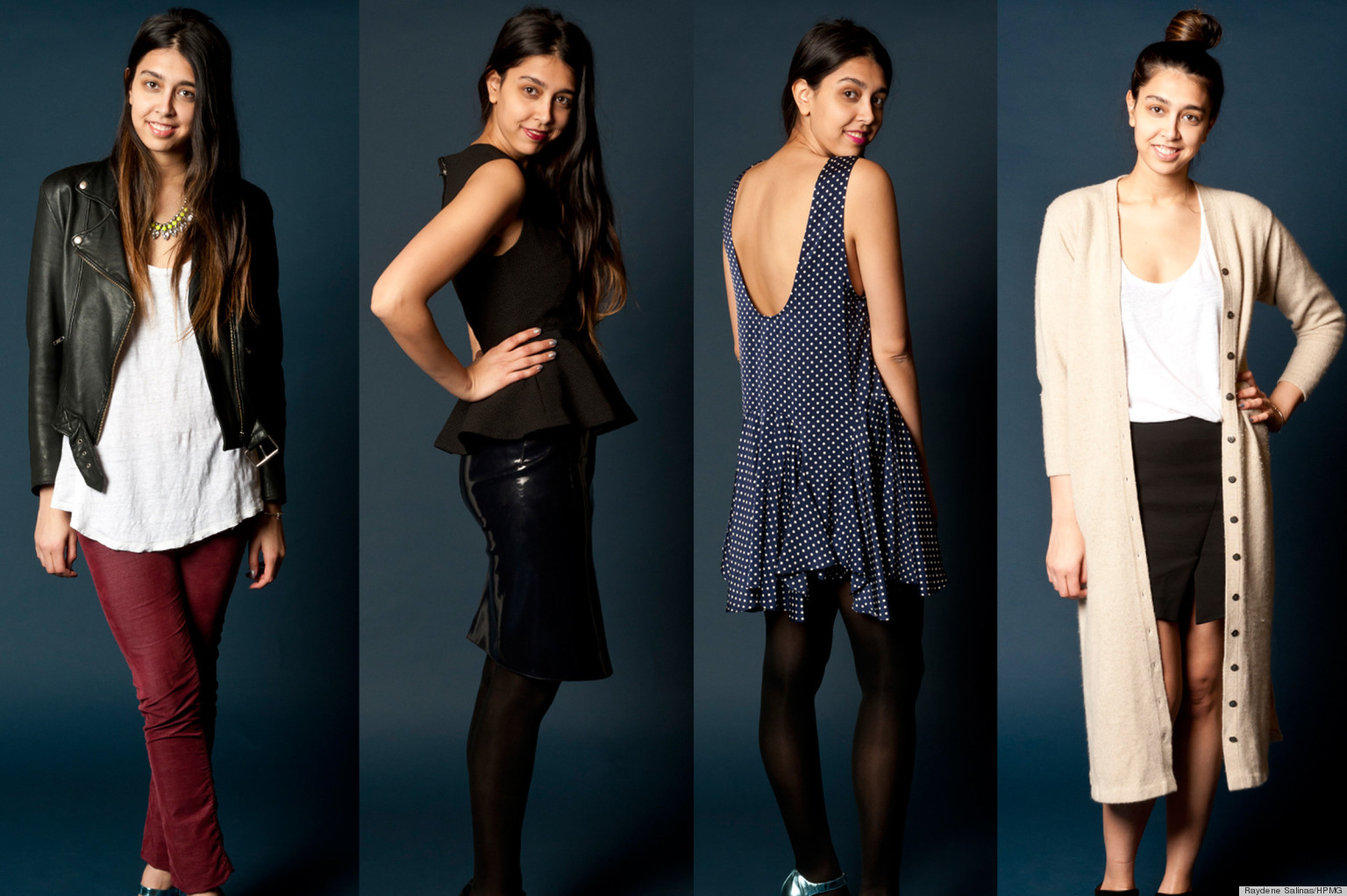 28 Outfit Ideas... From 14 Items Of Clothing (PHOTOS) | HuffPost