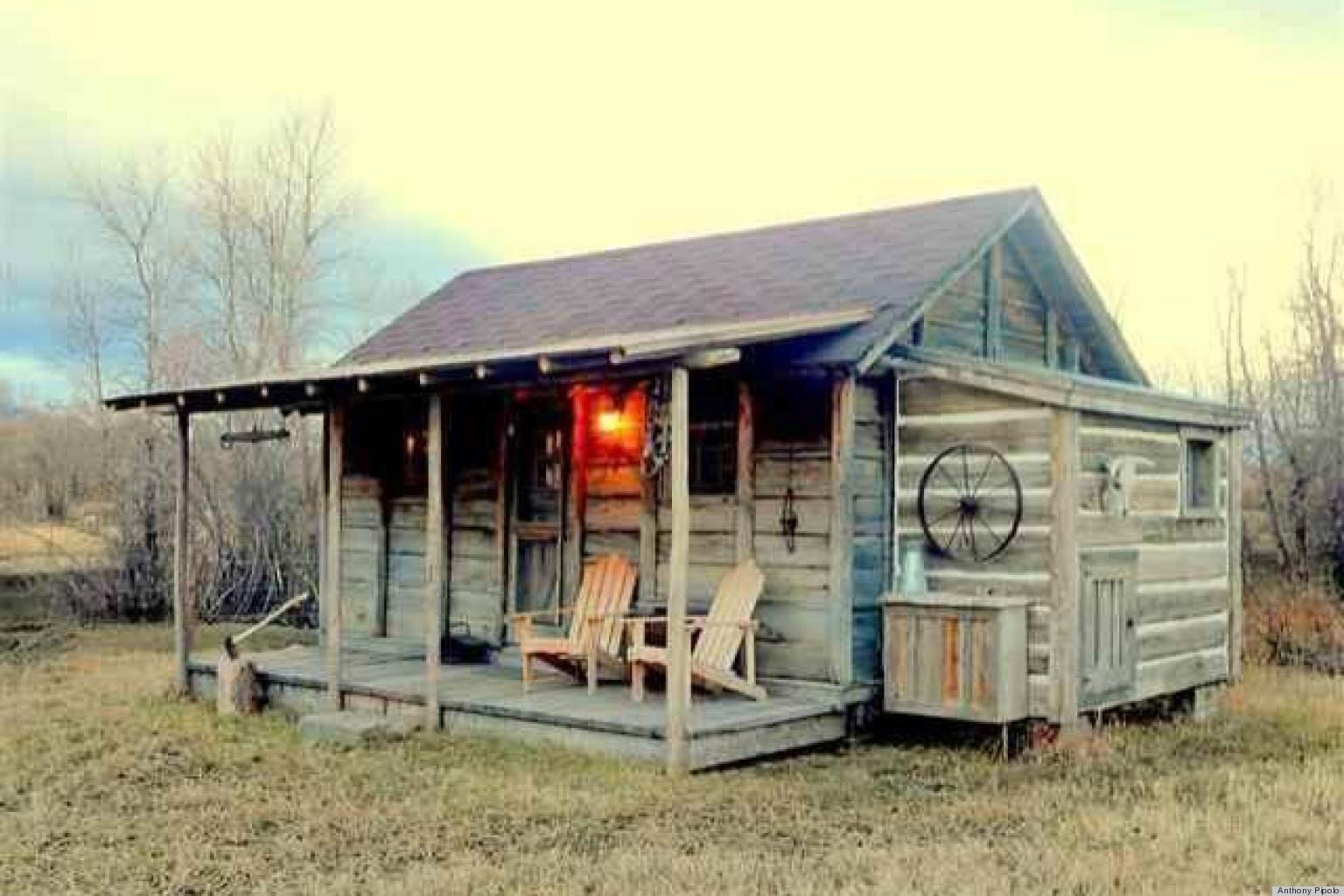Yellowstone cabin for sale may prove john f kennedy loved for Tiny house builders ontario