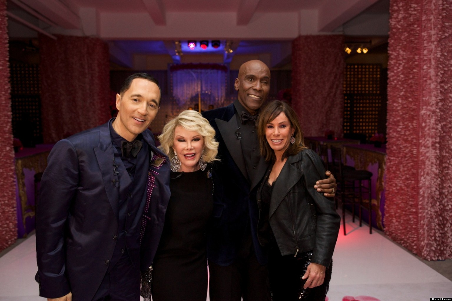 Joan Rivers Plays Rabbi Marries Celebrity Wedding Designer