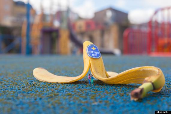 bananes slinkachu