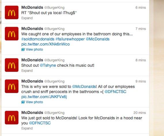 burger king hacked