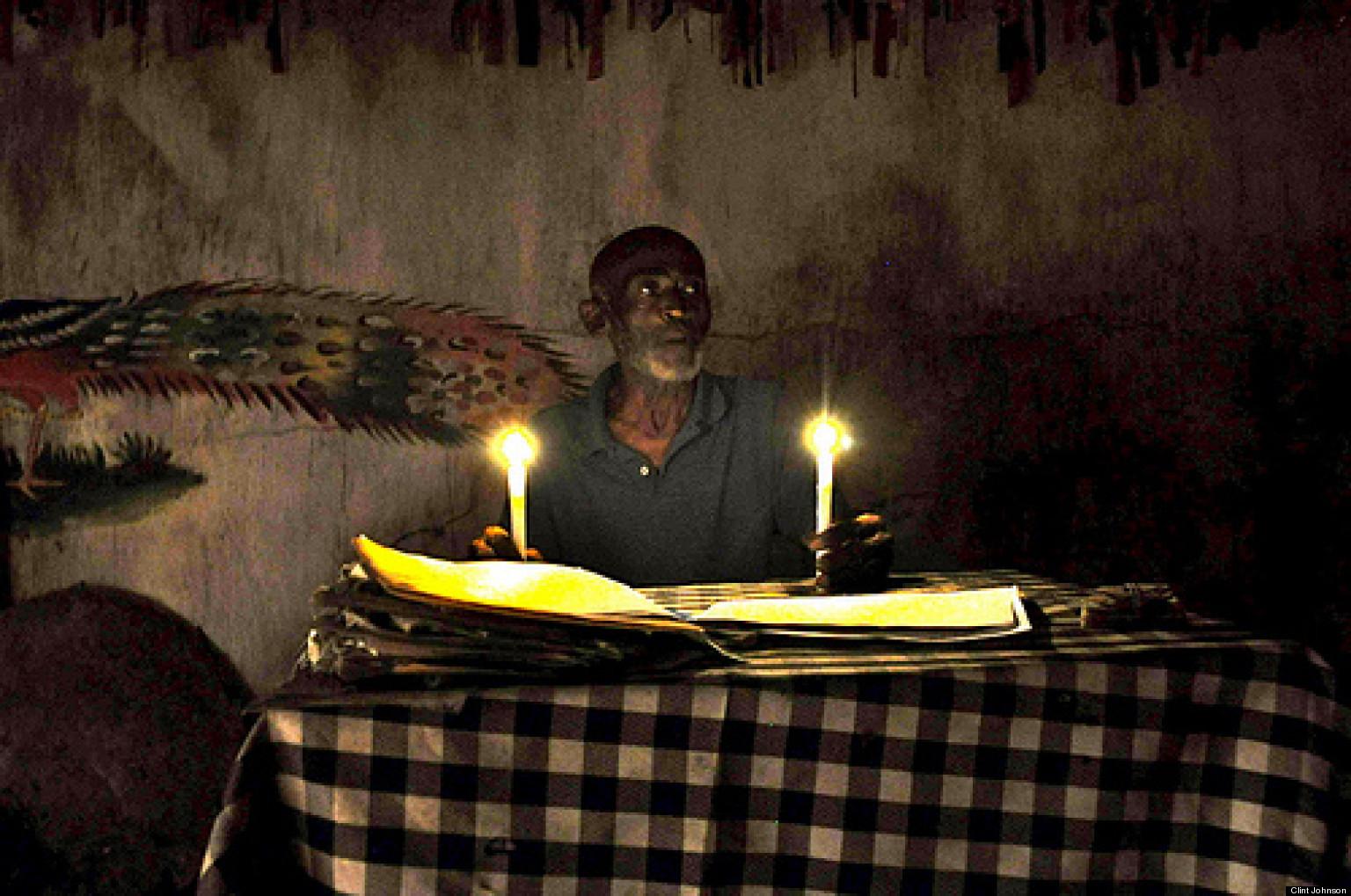 meeting a haitian voodoo priest huffpost